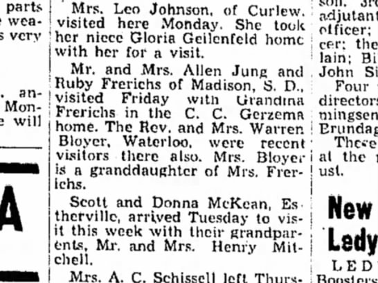 Algona Advance