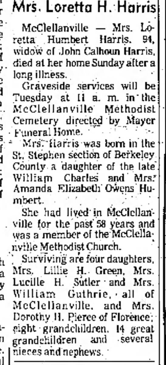 Florence Morning News(Florence, South Carolina) 9 Sept 1974 - of and Davis Davis .of N.J.: of of of Ada a...