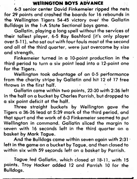 chilliothe tribune 3 march 1981 article - the Kenny Russell two or trapping off Polo to a...