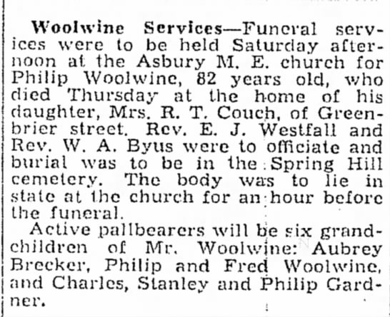 Philip Woolwine