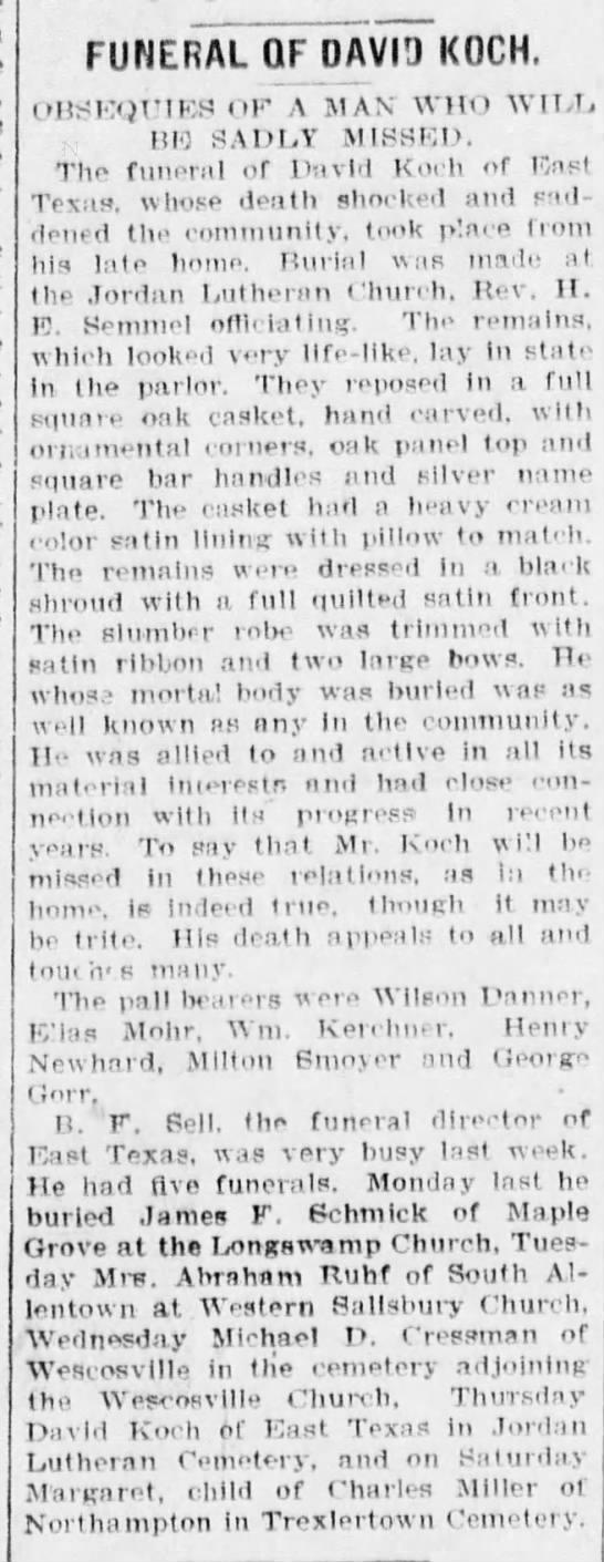 David Koch's Funeral - young-grandmothers FUNERAL OFJOAVID KOCH....