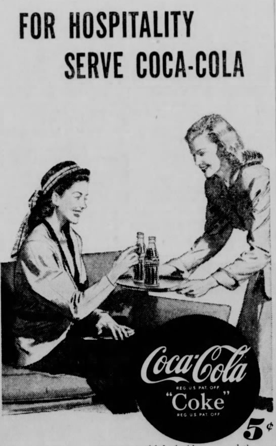 Coca-Cola: The Hospitality Drink - FOR HOSPITALITY SERVE COCA-COLA