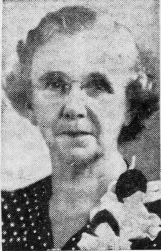 "Eleanor (Nell) Lawrence Mikel.  The Pantagraph, Bloomington, Illinois.  16 Mar 1958.  Page 3 - l01U-UMt l01U-UMt l01U-UMt fr'""iili 'S' -land..."
