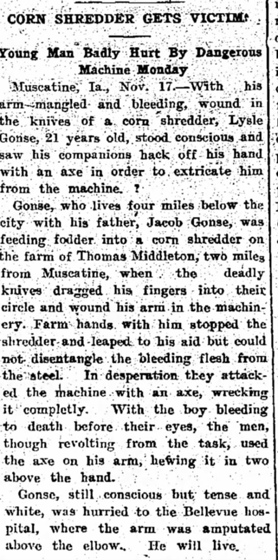 On Thomas Middleton Farm