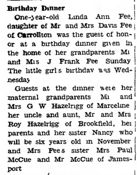 10-8-1940, Chillicothe MO
