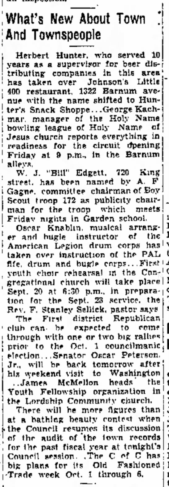 The Bridgeport Telegram (Bridgeport, Connecticut)