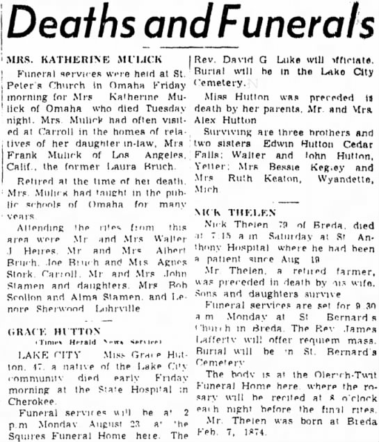 Carrol Daily Times Herald