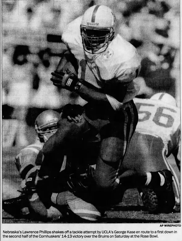 1993 Lawrence Phillips vs UCLA