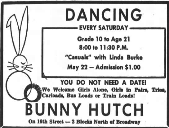 65-05-22 - DANCING 'EVERY SATURDAY- SATURDAY- Grade 10 to...