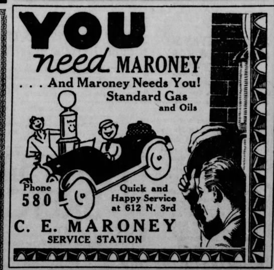 Maroney - YOU need, maroney . . . And Maroney Needs You!...