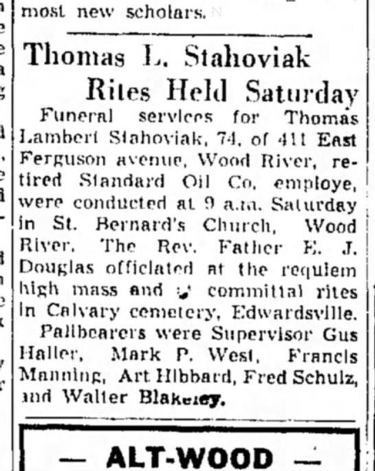 F Manning - most new scholars. Thomas L. Stahoviak Rites...