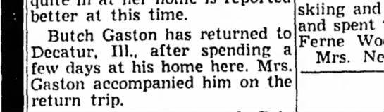Decatur,Il 1958