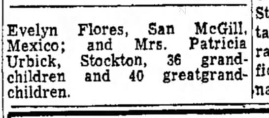AGNES COYNE 2 - Evelyn Flores, San McGill, Mexico; and Mrs....