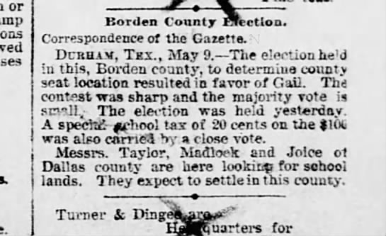 ELECTION - or if m llonlen County Election Correspondence...