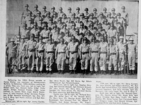 mc guard Jul 29 1968 pg 6 Maryville Daily Forum - Following the 135th Group parade at Camp...