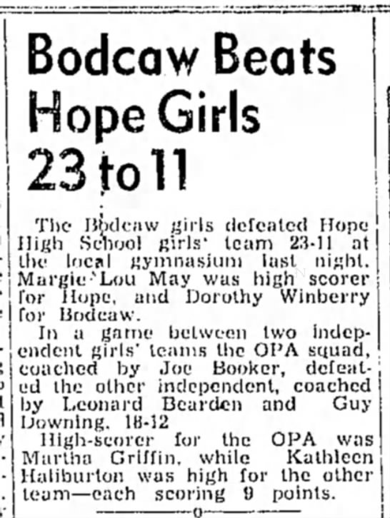 Winberry HS 2 Feb 1946 p2