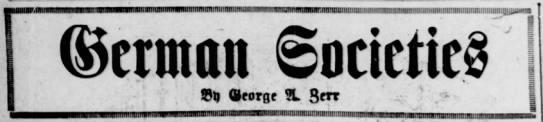 German Societies in Pittsburgh, 1916 - m MnmnimmuninimMummimmmuimt ran mi oricne a...
