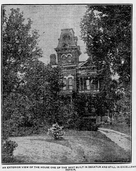 MILLIKINHOMESTEAD_East Building Elevation_The Decatur Herald_29AUG, 1915, Sunday p13 - ailnlnlnnlnBii-n ailnlnlnnlnBii-n...