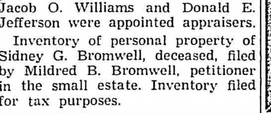aug.7 1953 denton  journal - Jacob O. Williams and Donald E. Jefferson were...