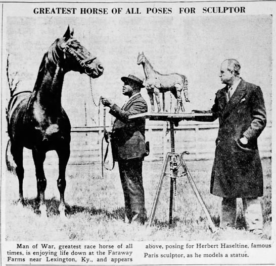 - GREATEST HORSE OF ALL POSES SCULPTOR Man of...