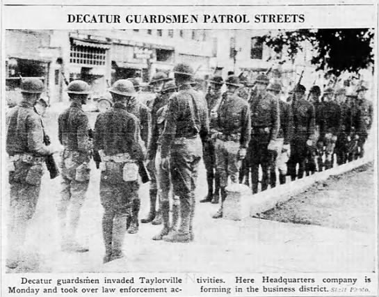 - i pn-i j DECATUR Decatur guardsmen invaded...