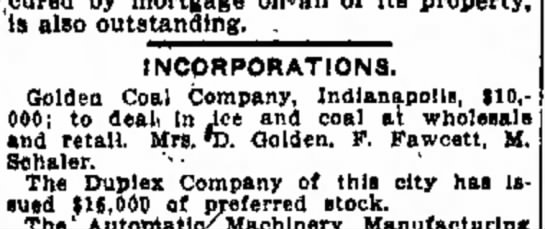 Golden Coal