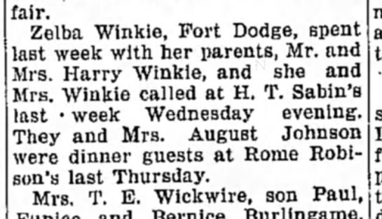 Johnson, Christine Nelson