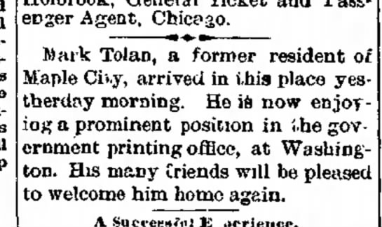 1887 1111 Hornellsville Weekly Tribune p.2