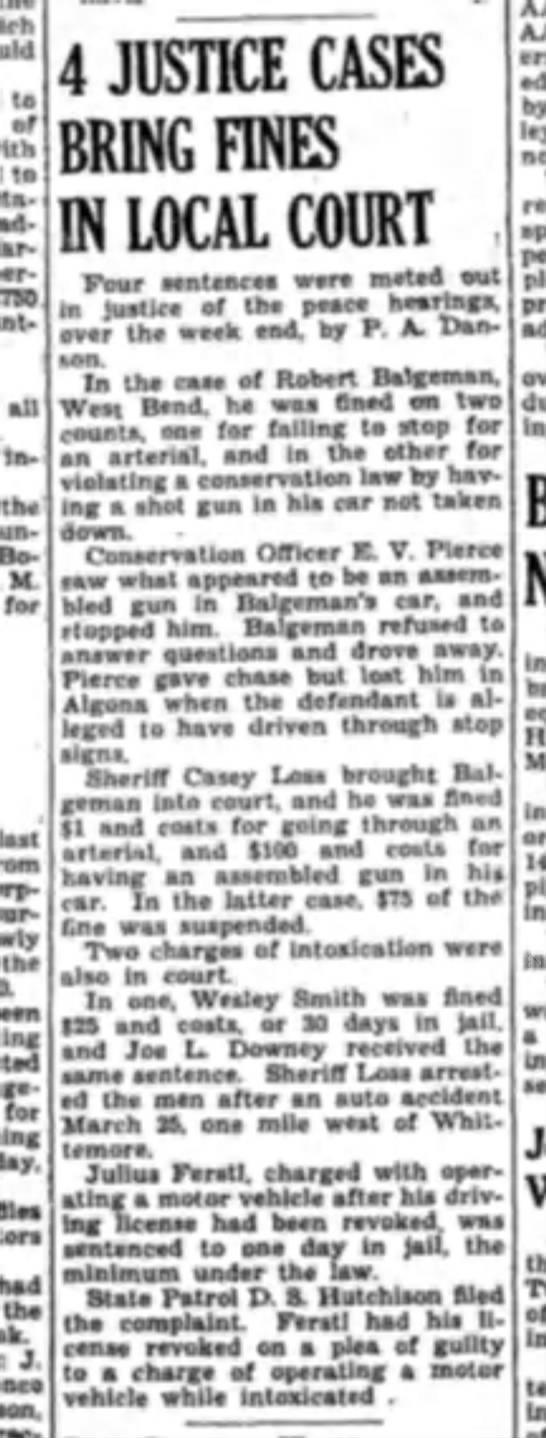 robert bbalgemen fined 1940 - to of with to station adjacent permit $750 all...