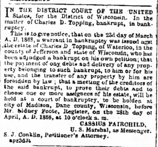CharlesDToppingbankruptcy