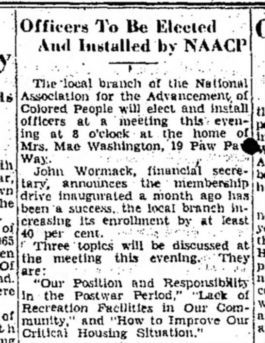 Naacp - of 965 of 1th Officers To Be Elected And...