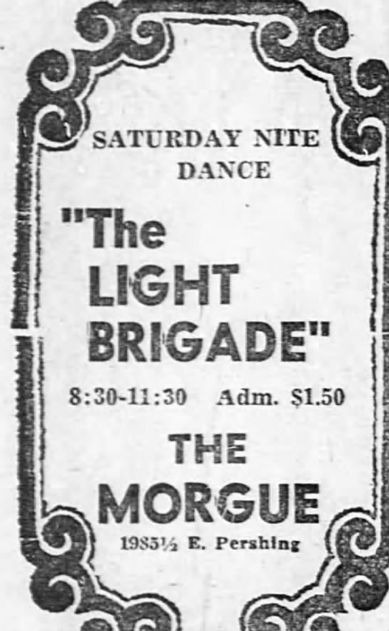 "1968-12-14 Lt. Brigade - ""The LIGHT BRIGADE"" 8:30-11:30 8:30-11:30..."