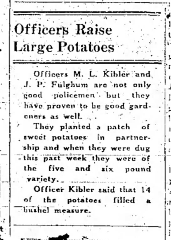 - OfficerB liaise Large Potatoes Officers M. L....