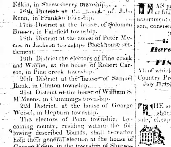 Williamsport Sun-Gazette, 9 Oct 1833, pg. 1 - F.dkin, in Sbic.wslwrrv tiu' n *hi]i_». , *...