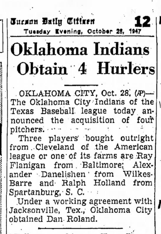 19471028 Tucson Daily Citizen (Tucson, Arizona) Tuesday, October 28, 1947 p12 - r e s Iur.jmn Satlg Cftfirftt Tundiy Iv»nlnfl,...