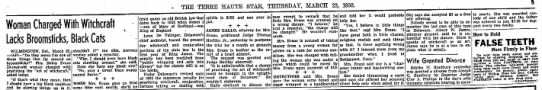 The Terre Haute Star, 23 March 1950, 5. - THE TEREE HAUTE STAB, THURSDAY, MARCH 23, 1950....