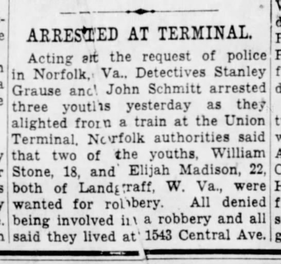1945_03_20_Cinti Enquirer_Page 10_Arrested At Terminal -