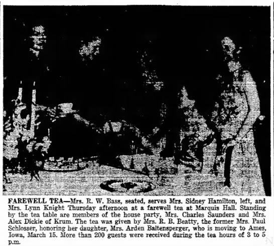 Denton Record Chronicle 2/26/1954 -