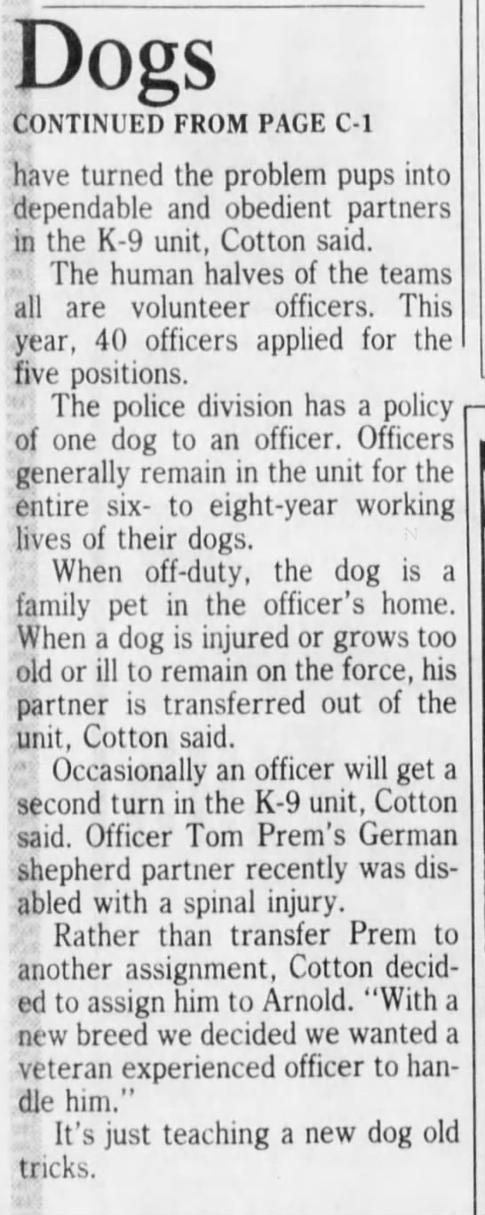 K9_Arnold_Duke_Cincinnati__The_Cincinnati_Enquirer_6_Dec_1986 p2 -