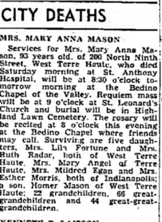 Terre Haute Tribune 4/23/1962 page 2 -