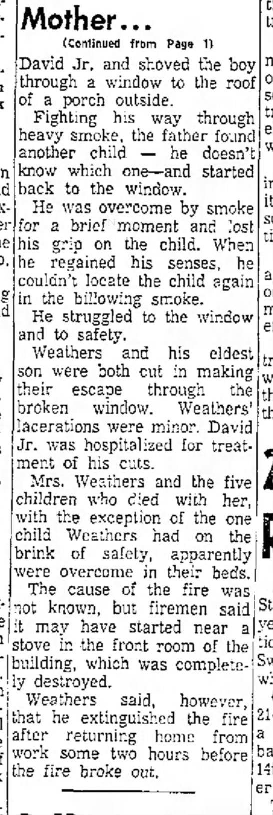 Weathers James fire10May1961 pg7 -