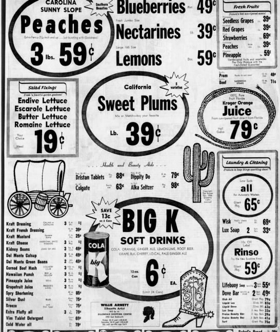 Kroger ad 1966 - Newspapers com