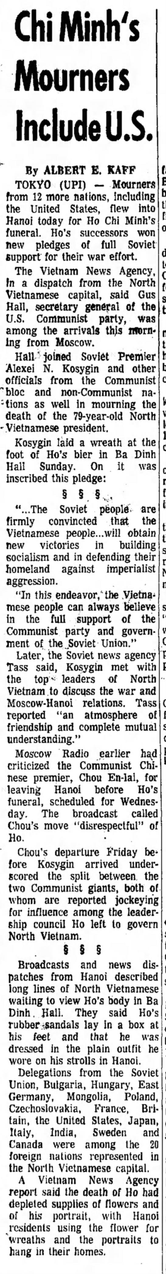Sep 1969, Hanoi -