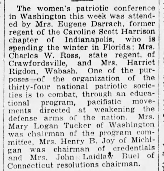(untitled) The Indianapolis Star (Indianapolis, Indiana) February 5, 1928, p 51 -
