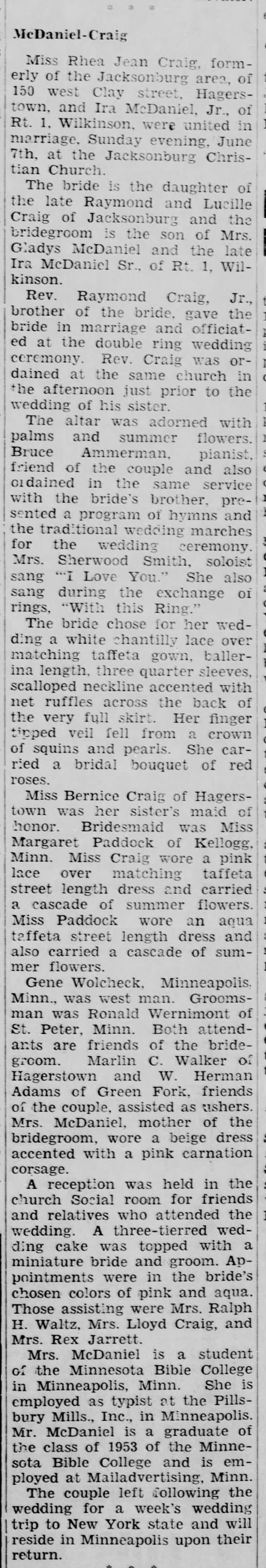 The Daily Reporter (Greenfield, IN), 15 June 1959 -