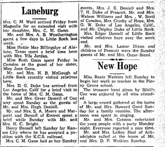 Hope Star 18 Sep 1934 Daniell -