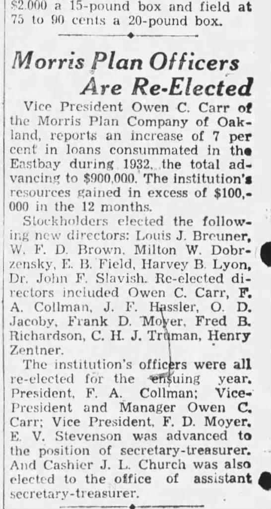 1933 board -