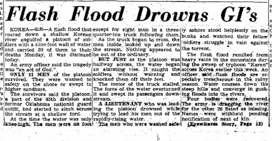 21Aug1952FloodkillsSoldiersinKoreanRiver -