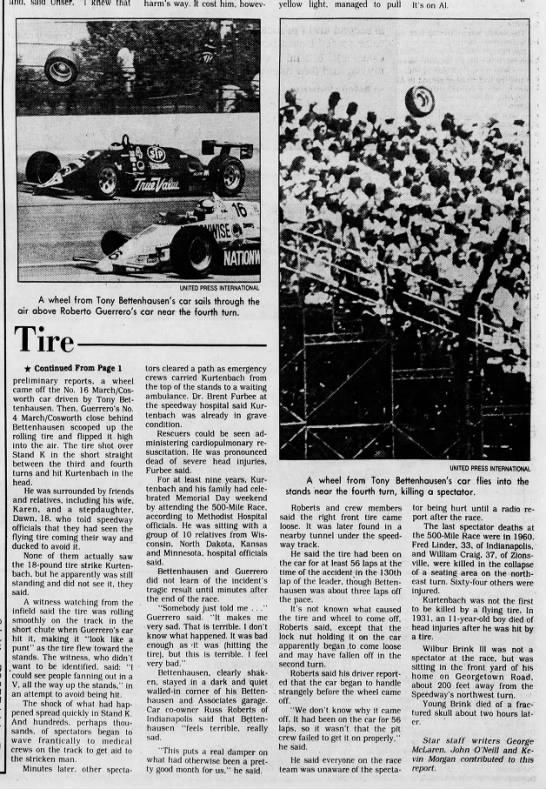 1987 Indianapolis 500 -