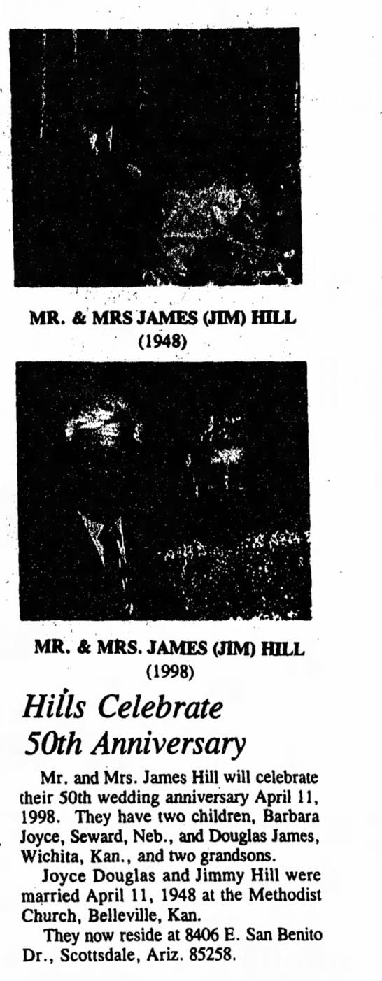 Jim Hill Belleville 5 March 1998 -